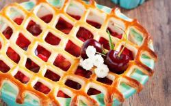 Pie Baking Berries Cherries Sweet