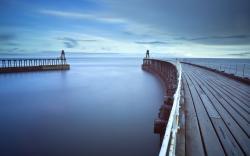 Sea pier