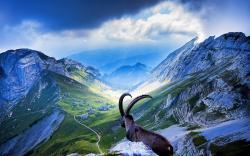 Pilatus mountain switzerland