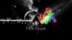 Preview wallpaper pink floyd, triangle, colors, space, background 3840x2160