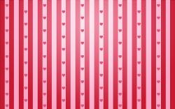 Pink hearts stripes