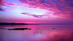 Pink Sunset 30025 1920x1080 px