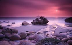 Pink Sunset Coast