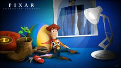 ... The World of Pixar - Wallpaper by timdw