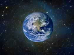 Earth is the only planet whose English name is not derived from a Greco-Roman god. The Earth is an English/German name which simply means the ground.