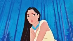 Pocahontas's Cher Horowitz Hair Flip