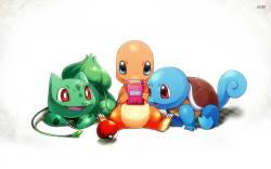 Charmander and Squirtle wallpaper 1920x1200