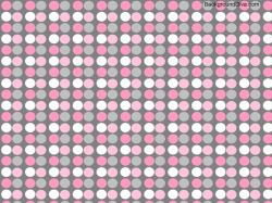 Image detail for -Blog Archive Pink and Gray Polka Dot Desktop Wallpaper - Desktop .