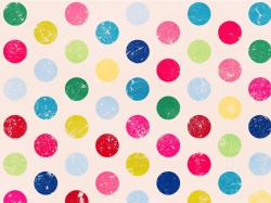 Wallpaper Polka Dots: Wallpapers Polka Dots Colored Psp 1024x768px