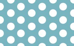 Outstanding Blue Polka Dot Wallpaper 1920x1200px