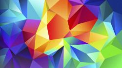 Colorful Polygons HD Wallpaper 1920x1080