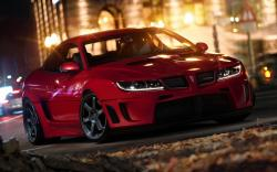 Pontiac GTO City Night Lights Photo