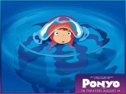 Ponyo Wallpaper 1024