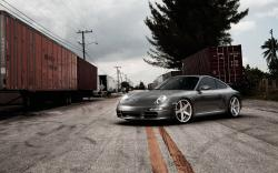 Porsche 911 Vossen Wheels