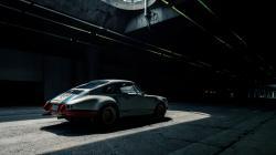 Patch of Light Tunnel Porsche 911 HD Wallpaper