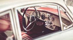 Porsche Interior Close-Up
