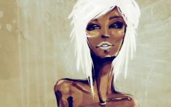 Portrait Girl Painting Art