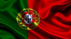 3840x2160 Wallpaper portugal, satin, flag, symbols