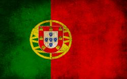 Dirty Portugal Flag Wallpaper