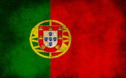 Dirty Portugal Flag Wallpaper
