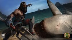 Shark Hunter PoseidonWallpaper