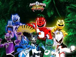 """Power Rangers Jungle Fury"" desktop wallpaper number 1 (1024 x 768 pixels)"