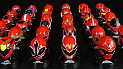 Sentai Mask Collection (Power Ranger Helmets)