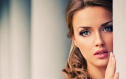 Girl pretty face