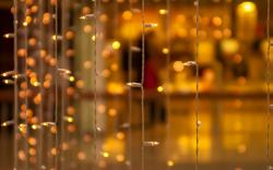 Garland Lights New Year HD Wallpaper