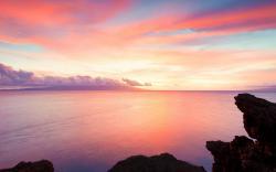 Pretty Ocean Landscape