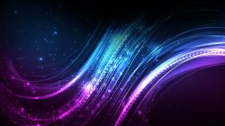 Purple and Blue Abstract HD Wallpaper