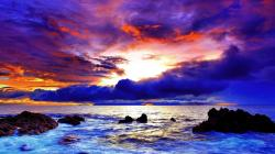 Description: The Wallpaper above is Purple red sunset coast Wallpaper in Resolution 1920x1080. Choose your Resolution and Download Purple red sunset coast ...