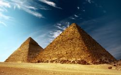 Egyptian Pyramids wallpaper hd