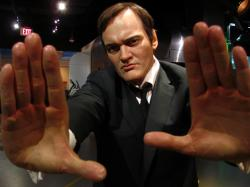 ... Quentin Tarantino figure at Madame Tussauds Hollywood | by Castles, Capes & Clones