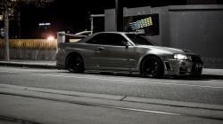 Nissan Skyline R34 Parking