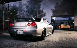 Nissan R34 Skyline GT R
