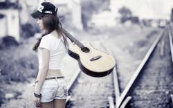 Railroad Girl Asian Guitar Music