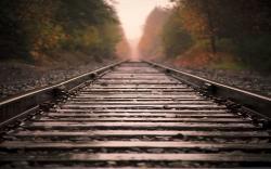 Railroad Closeup