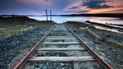 End of Railway Wallpaper HD Wallpaper