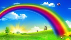 Beautiful Rainbow HD Wallpapers Free Download