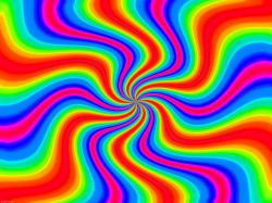 Abstract Colorful Abstract Art Twisted Rainbow Wallpaper Rainbow Wallpaper