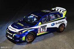 2011 Subaru WRX STI Rally Car 1024 x 770