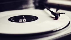 Record Vinyl Music Player
