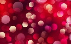Red Abstract Bokeh