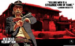 Red Dead Redemption, Landon Ricketts HD Wide Wallpaper for Widescreen