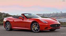 Red Ferrari California Wallpaper