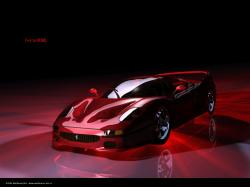 Description: Free download Ferrari F-50 red wallpaper desktop background in 1024x768 HD & Widescreen resolution