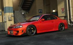 Red Nissan Silvia Wallpaper 19388