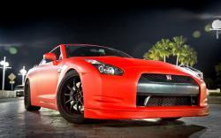 Red Nissan GTR Wallpaper 20309