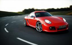 Porsche Mansory Red porsche, concept, mansory, car